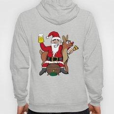 Drunken Santa Color Hoody