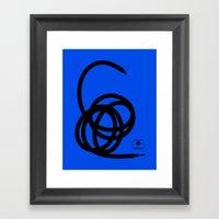 Unplugged Framed Art Print