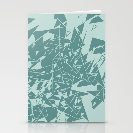 Glass MG Stationery Card