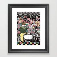 Crow Serie :: The Crow &… Framed Art Print