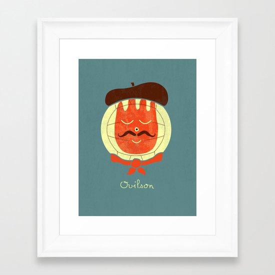 French Companion Framed Art Print