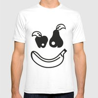 Tutti Frutti Vegan Tee Party Mens Fitted Tee White SMALL