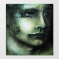 Tormented Canvas Print