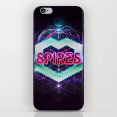 Spires 80's Neon  iPhone & iPod Skin