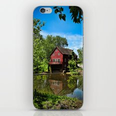 Old Red Grist Mill iPhone & iPod Skin