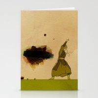 Avatar Kyoshi Stationery Cards