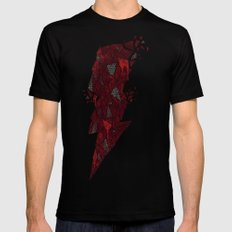 Crimson Matter Mens Fitted Tee Black SMALL