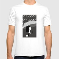 close to tears Mens Fitted Tee White SMALL