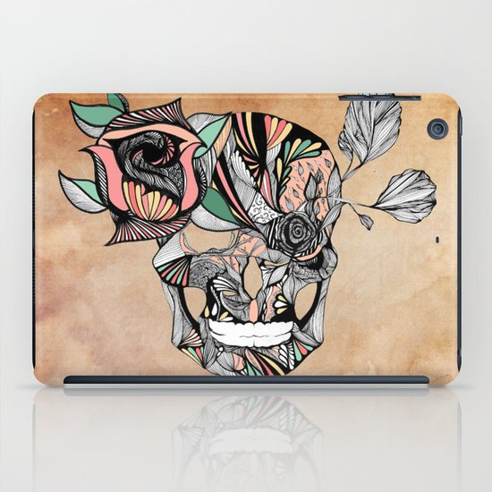 Flower Skull iPad Case
