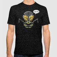 ChibizPop: I Know What I… Mens Fitted Tee Tri-Black SMALL