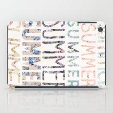 Summer, Summer, Summer.  iPad Case