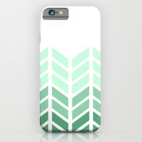 iPhone & iPod Case featuring OMBRE LACE CHEVRON by natalie sales