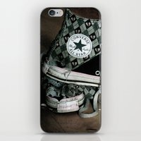 Worn Out Chucks iPhone & iPod Skin
