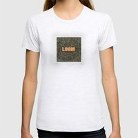 Loom Knox Womens Fitted Tee Ash Grey SMALL