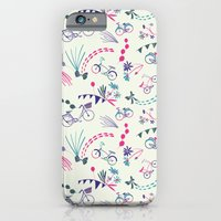 iPhone & iPod Case featuring Weekend Riding by Alyssa Bermudez