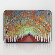 Autumn Birch  iPad Case