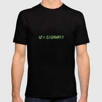 1.21 Gigawatt - Back to the future Mens Fitted Tee Black SMALL