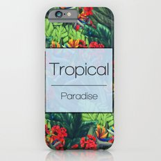 Tropical Paradise iPhone 6 Slim Case