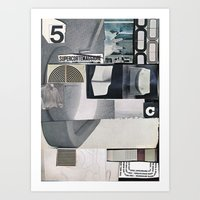 1001 Yeti Postes Art Print