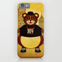 iPhone & iPod Case featuring Old School Bear by Shakeel