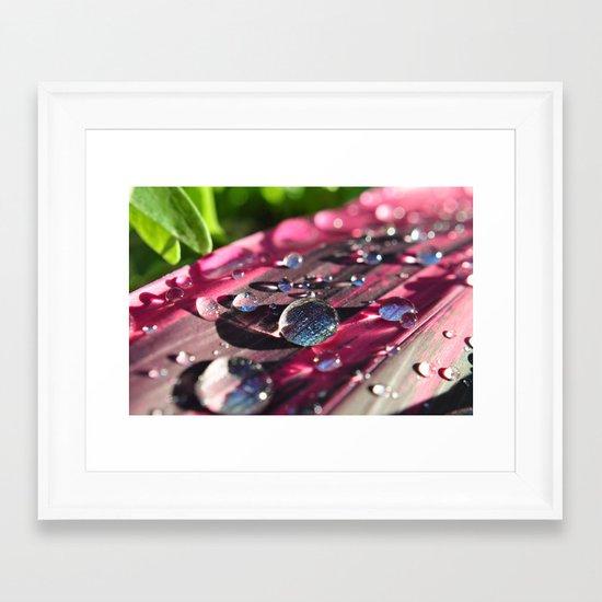 look a little closer Framed Art Print