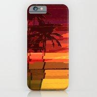 Tropical Glitchset iPhone 6 Slim Case