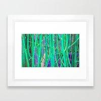 NATURAL DE-FENCE Framed Art Print