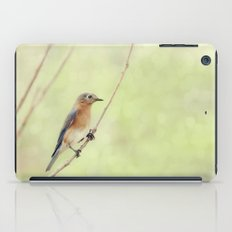 Perched On A Frail Branch iPad Case