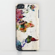 Map iPod touch Slim Case