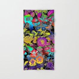Hand & Bath Towel - Lsd Floral Pattern - Burcu Korkmazyurek