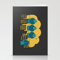 Three plus one Stationery Cards