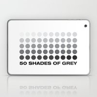 50 Shades Of Grey Laptop & iPad Skin