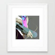 jhdsflsdhf Framed Art Print