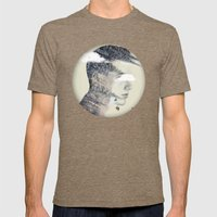 Natures spike Mens Fitted Tee Tri-Coffee SMALL