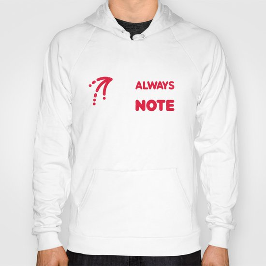And that's why you always leave a note.  Hoody