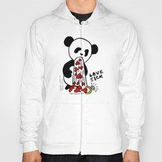LOVESICK PANDA - grey Hoody