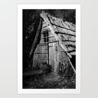 Wood Workers House Art Print
