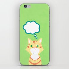 cat 2-British Shorthairs iPhone & iPod Skin