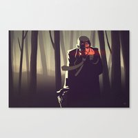 Sin City Woods Canvas Print