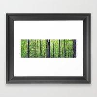 TOKEN WOODS Framed Art Print