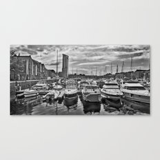 A Trip To The Marina. Canvas Print