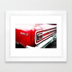 Chevy Malibu Framed Art Print