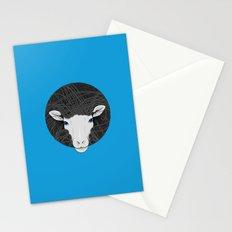 Black White Sheep Stationery Cards