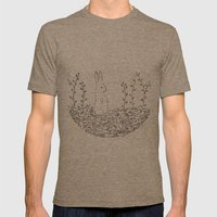 conejo Mens Fitted Tee Tri-Coffee SMALL