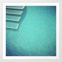 Deep Blue Art Print