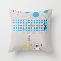 Copa. Throw Pillow