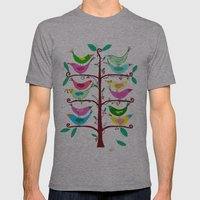 Tree Of Life Mens Fitted Tee Athletic Grey SMALL