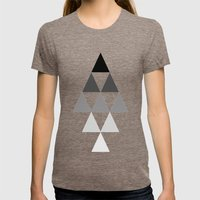 Formation Lvl.3 Womens Fitted Tee Tri-Coffee SMALL
