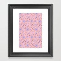 Luv Burst Framed Art Print
