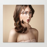 Another Portrait Disaster · W1 Canvas Print